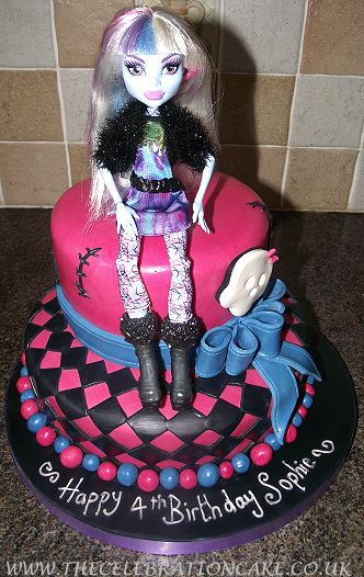monster high cakes | Specialised Celebration Cakes - Girl's Birthday Cakes