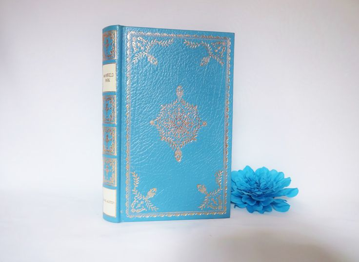 23ct Gold on Real Lambskin Luxury Edition of Mansfield Park by Jane Austen…