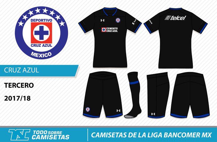 Camisetas de la Liga MX 2017-18 - Cruz Azul