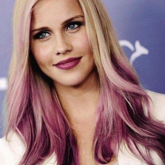 Ombrè hair rosa