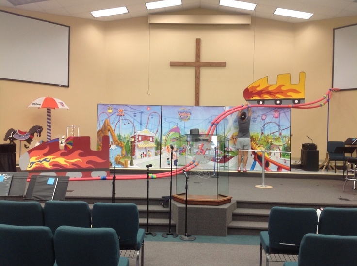 Classroom Worship Ideas : Best images about vbs colossal coaster on pinterest
