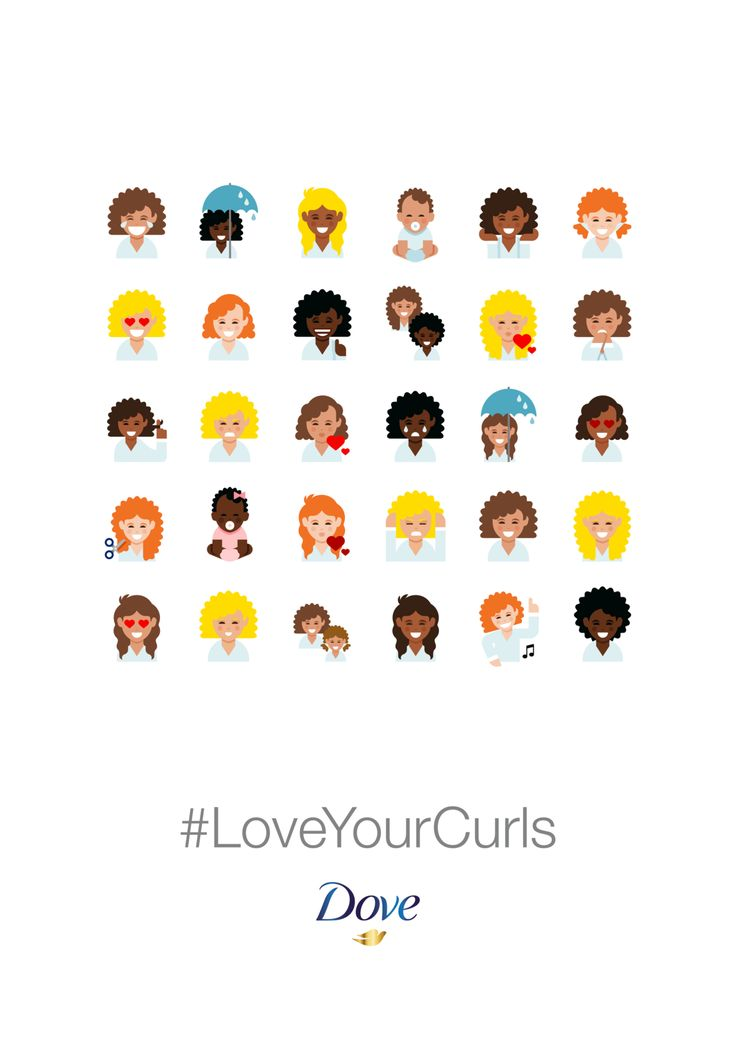 Read more: https://www.luerzersarchive.com/en/magazine/print-detail/dove-60811.html Dove This ad for Dove brand haircare products is designed to highlight the absence of curly hair in most emoji collections, recommending a specially designed keyboard that can be downloaded online. Tags: Ogilvy & Mather, Paris,Dove,Juana O'Gorman,Béatrice Lassailly,France de Saint Stéban,Jeremy Claud,Le Duo,Charly Manceau
