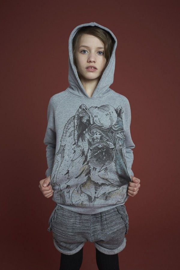 Mystical Print With Owls Eye For Soft Gallery Scandinavian Kids Fashion Fall Winter 2014 Kids