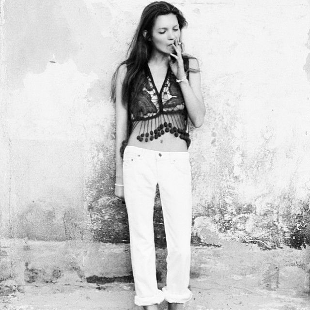 via manrepeller - On the topic of taste, style and mutual exclusion: Kate Moss. http://manr.pl/1g41TkI