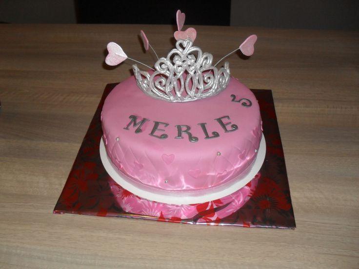 Tiara taart/ cake