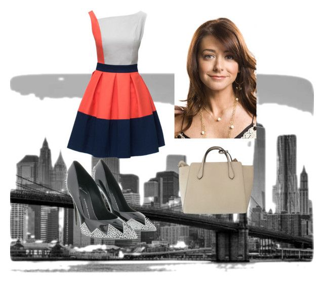 """""""How I Met Your Mother - Lily Aldrin"""" by thisismarly ❤ liked on Polyvore featuring Brewster Home Fashions, Lattori, Gucci, women's clothing, women's fashion, women, female, woman, misses and juniors"""