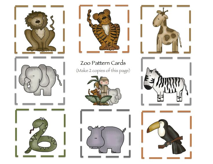 preschool printables zoo educaci n infantil pinterest preschool printables the zoo and. Black Bedroom Furniture Sets. Home Design Ideas