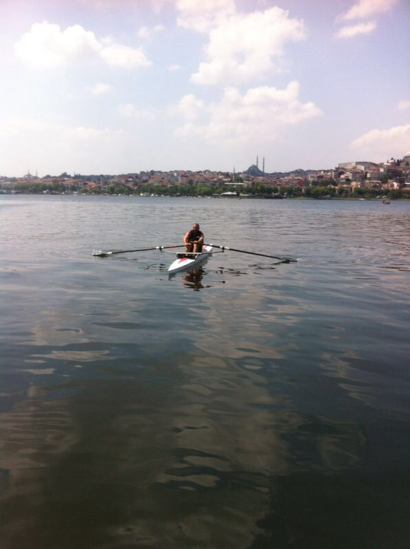Rowing...