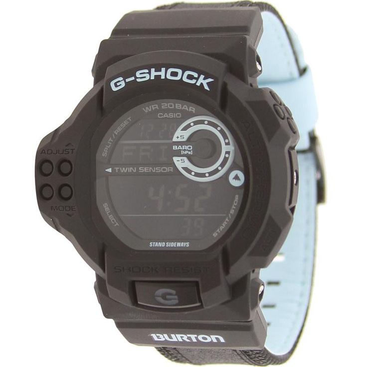 Casio G-Shock x Burton Twin Sensor Watch (black) GDF100BTN-1CR - $179.99