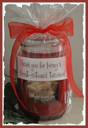 """teacher appreciation """"thank you for being a scent-sational teacher"""""""