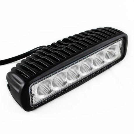 LED Arbetslampa 6st led