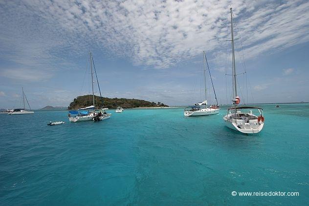 Segeltörn Karibik  www.reisedoktor.com