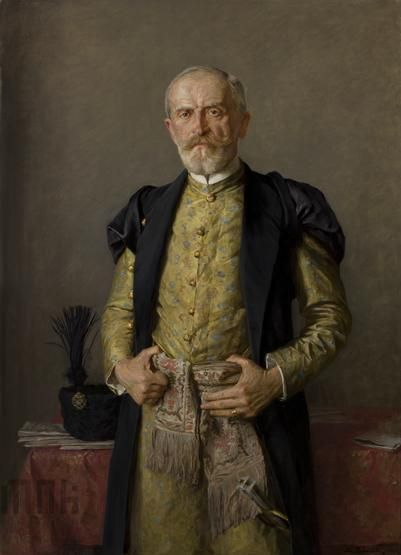 rz Pochwalski - Portret Stanisława Niezabitowskiego 1928r 130,5 cm, szer. 95,5 cm, Muzeum Narodowe w Krakowie