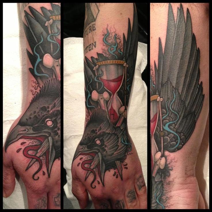 17 Best Images About Raven Tattoo On Pinterest Dark
