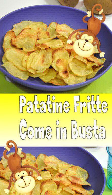 Risultato fantastico le mie patatine fritte come in busta fatte in casa