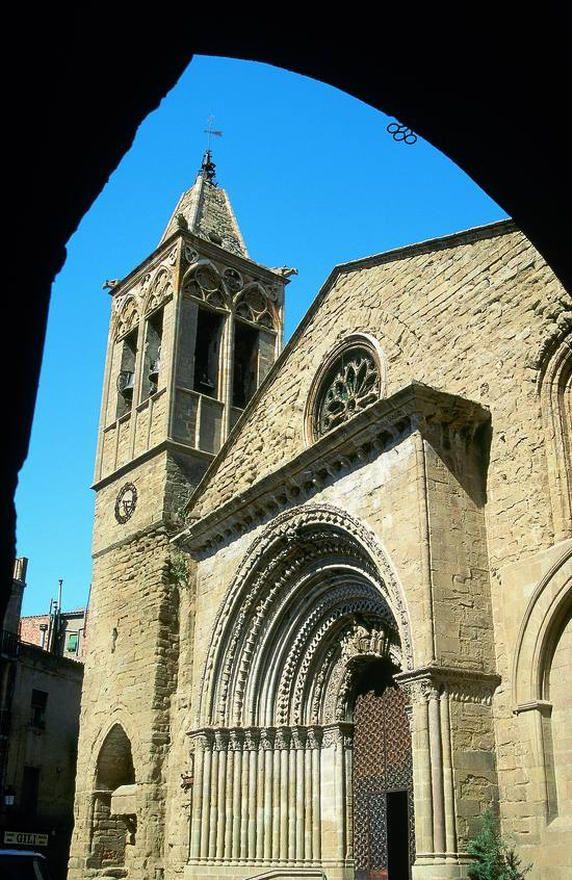 Iglesia de Santa María d'Agramunt, Agramunt Lleida  Catalonia