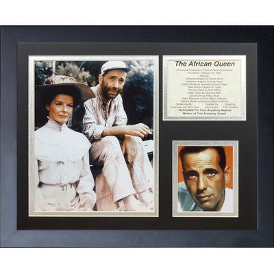 Legends Never Die The African Queen Framed Memorabilia