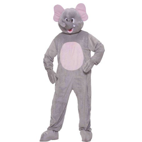 Elephant Plush Adult Costume Size Standard Reviews - http://www.halloween.quick-reviews.com/6387/elephant-plush-adult-costume-size-standard-reviews.html