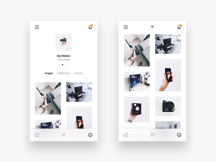 VSCO Profile by Ilja Miskov #Design Popular #Dribbble #shots