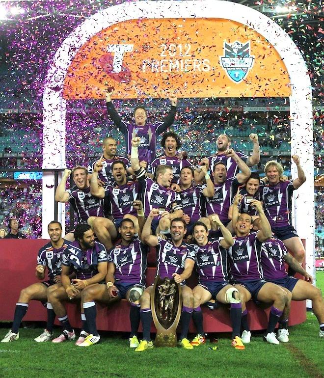 @Melbourne Storm - a @Sports Geek Zeen - Client Focus