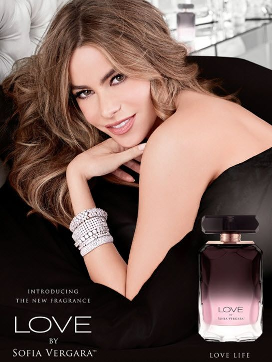Sofia Vergara has announced her second fragrance, Love by Sofia Vergara