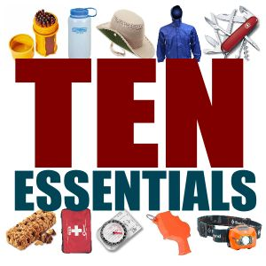 The Scout Motto is 'be prepared'! Every Scout should be equipped with these ten essentials on any camping trip