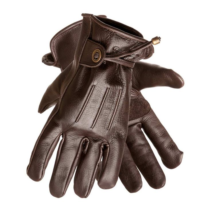 Corazzo Cordero Motorcycle or Motorcycle Gloves - Vintage Brown | Gloves | FREE UK delivery - The Cafe Racer