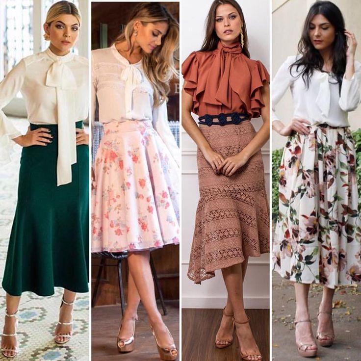 """172 curtidas, 2 comentários - Ateliê De Executiva (@ateliedeexecutiva) no Instagram: """"Bom dia!! Blusas e camisas com gola laço são super femininas e muito poderosas. Na inspiração de…"""""""