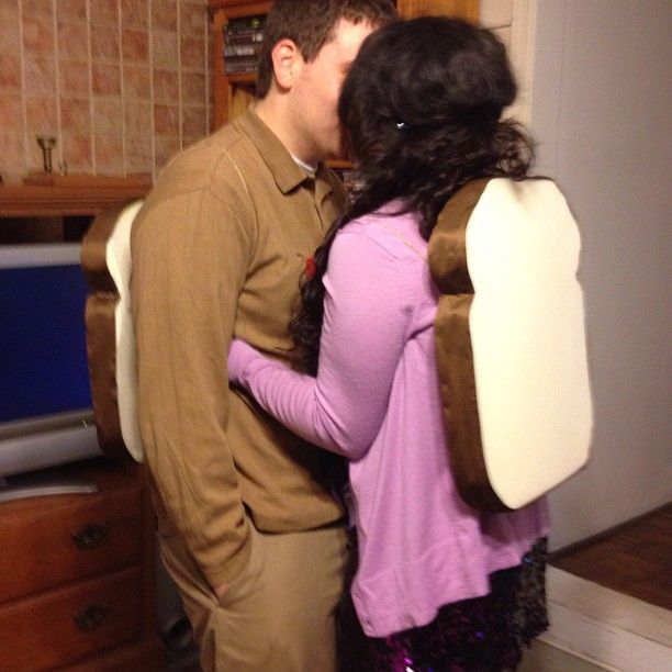 PB & J couple costume for halloween - we might be able to pull this one off