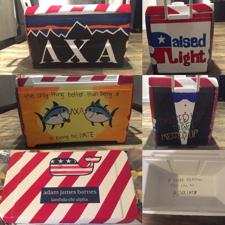 Lambda Chi Alpha Fraternity Cooler                                                                                                                                                                                 More
