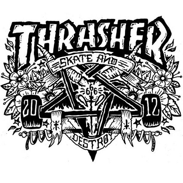 Congratulations to Cullum Preston for getting the most votes in our Ramondetta Skategoat contest. Your board is on it's way. - @thrashermag- #webstagram