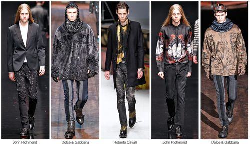 Top Denim Themes, Men's market, f/w 2015-16 DARK DYNASTY, runway