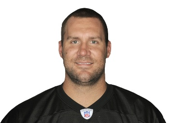 Ben Roethlisberger - The only Steeler I met while I lived in Pittsburgh. He is the biggest person I have ever stood next to, and despite what media says, very polite. Ben Roethlisberger Stats, News, Videos, Highlights, Pictures, Bio - Pittsburgh Steelers - ESPN