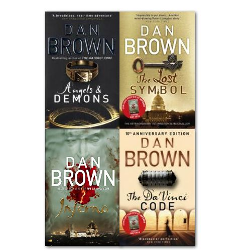 Dan Brown - LOVE his books! Intrigue, history, art & architecture....so well written!