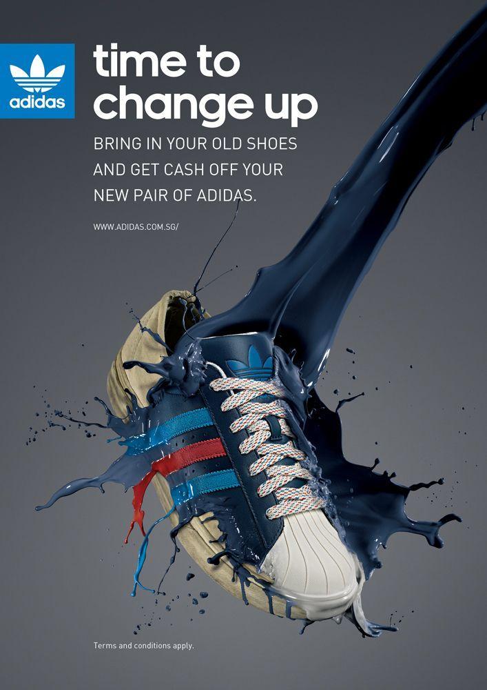 toda la vida Todavía polvo  Adidas Trainer Poster - Example of Product Poster | Shoe advertising, Adidas  ad, Adidas advertising