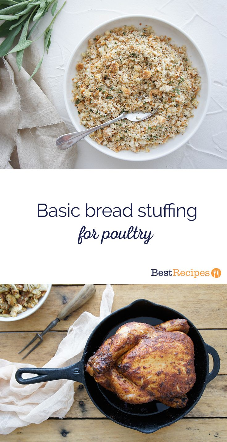 Basic Bread Stuffing