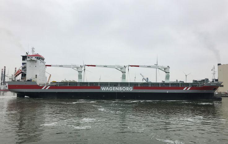 """Buque: """"AVONBORG"""". Año de construcción 2012. IMO: 9466362. DWT: 11.864 Tm. Propietario Shipowner Avonborg B.V., Delfzijl. Gerente: Wagenborg Shipping B.V., Delfzijl. Dimensiones: Eslora 142,8 m. Manga: 21,53 m. Calado: 13,3 m. Potencia de 10.200 hp. Velocidad: 17 nudos. Identificativo: PCOF. Bandera: Holanda"""