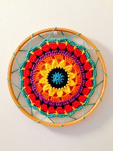 Sunny Flower Mini Mandala pattern by zelna olivier