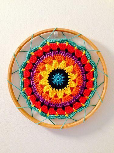 Sunny Flower Mini Mandala pattern by zelna olivier