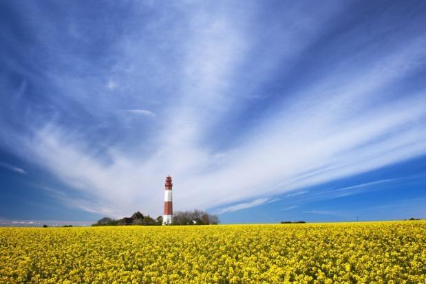 Flügger Leuchtturm auf Fehmarn - Lighthouse Flügge/Island of Fehmarn/Germany