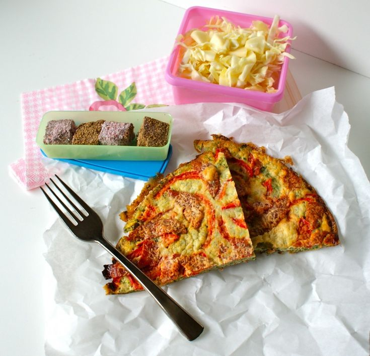 LCHF lunch box inspiration