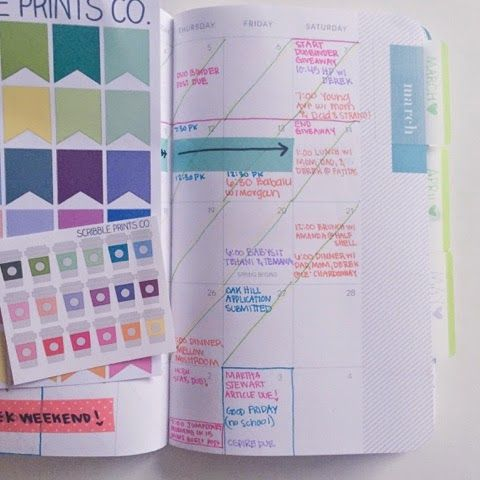 Organized Charm: Planner Review: May Designs