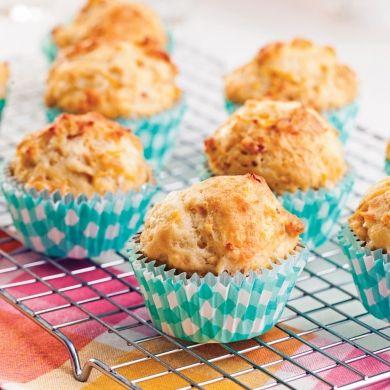 Muffins moelleux à la patate douce, fromage et bacon - Recettes - Cuisine et nutrition - Pratico Pratique