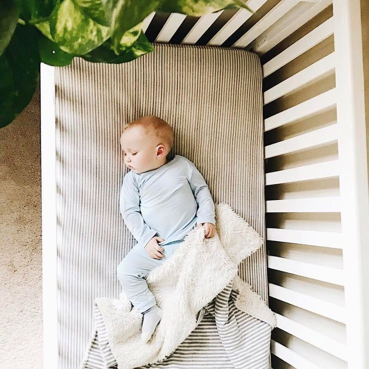 This little guy is looking so sweet sleeping in his matching Baby Long Sleeve Top and Baby Pull On Pant!