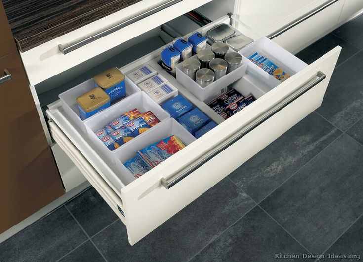 Cool One of the most popular ways to organize a kitchen is to start with a good
