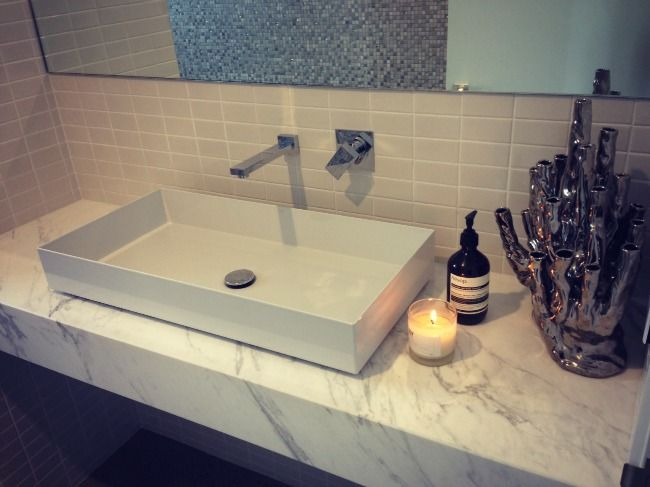 Ask Bec- Calacatta Marble on benchtops. - Rebecca Judd Loves