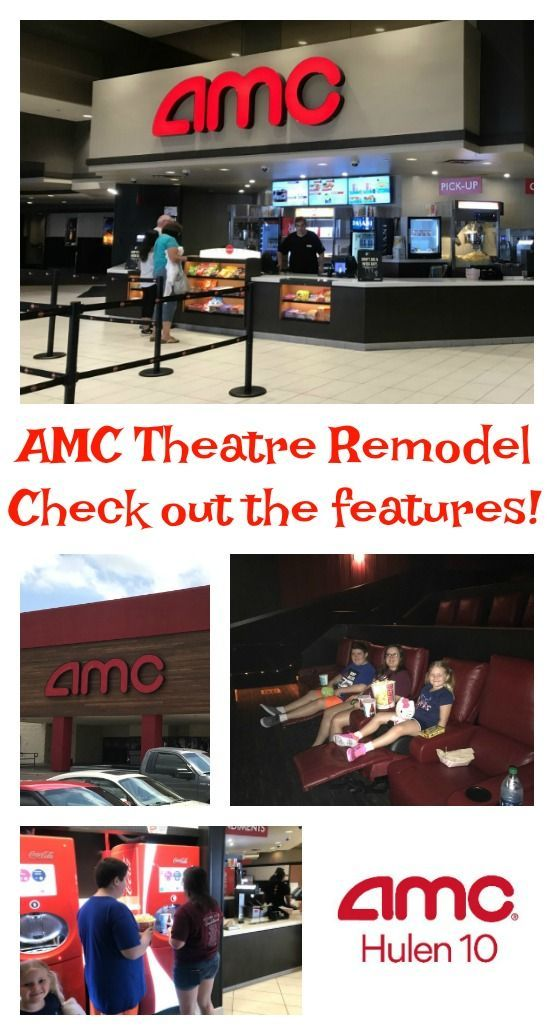 AMC Theatres are remodeling movie theatres all around and adding premium features like reserved seating and power recliners.  Come see our experience! #ShareAMC #ad