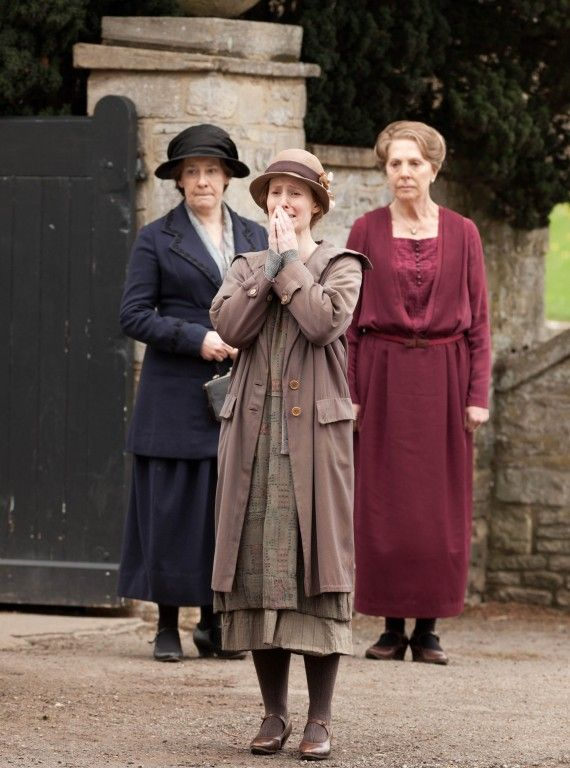 Mrs. Hughes knows that, however painful, Ethel made the right choice to give up her son given the times they live in. Ethel should be commended for her heart-wrenching sacrifice. #DowntonAbbey