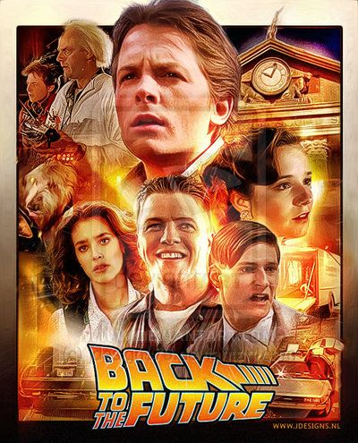 Back to the Future One of my favourite movies..decided to make a poster for Deviantart Note: Images taken from screenshots from the movie hell of a task to grab and process! Back to the future ©Uni...