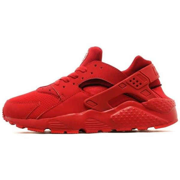 Nike Air Huarache Junior ($75) ❤ liked on Polyvore featuring shoes and sneakers